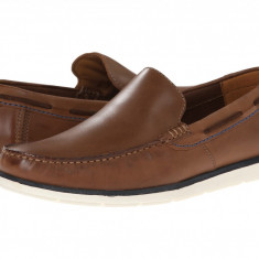Pantofi Clarks Kelan Lane | 100% originali, import SUA, 10 zile lucratoare - Pantof barbat Clarks, Piele naturala