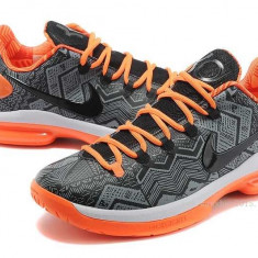 Bascheti Nike Kevin Durant 5 Low - Adidasi dama Nike, Culoare: Orange, Marime: 38