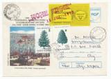 RFL 1995 ROMANIA vigneta rara mare Hohe Rinne Paltinis circulat pe plic FDC, Transporturi, Stampilat