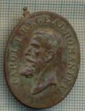 ATAM2001 MEDALIE VECHE 790 - BARBATIE SI CREDINTA - CAROL I REGE AL ROMANIEI