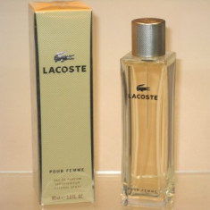 Lacoste Pour Femme Edp 90 ml Made in France, TRANSPORT GRATUIT - Parfum femeie Lacoste, Apa de parfum, 100 ml