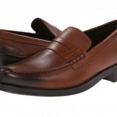 Mocasini Geox Uomo Silvio 6 | 100% originali, import SUA, 9-10 zile lucratoare - Pantofi barbat Geox, Piele naturala