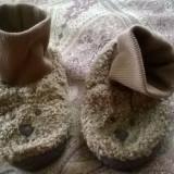 Papuci casa copii GAP - Botosi copii, Marime: 28.5, Culoare: Camel