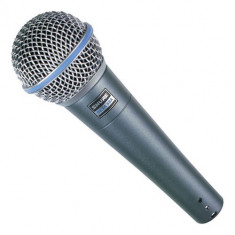 Microfon Shure Beta 58A profesional cu fir