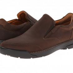Pantofi ECCO Dason Casual Slip-On | 100% originali, import SUA, 10 zile lucratoare - Pantofi barbat Ecco, Piele naturala