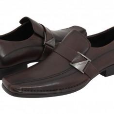 Pantofi Kenneth Cole New York Run Around | 100% originali, import SUA, 10 zile lucratoare - Pantofi barbat Kenneth Cole, Piele naturala