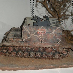 + Macheta asamblata si vopsita scara 1/35 - German Mobelwagen + - Macheta auto Tamiya