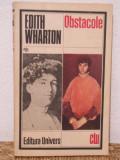 OBSTACOLE-EDITH WHARTON