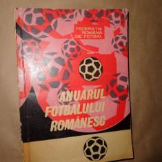 Anuarul fotbalului romanesc 1967-1969 - Carte sport