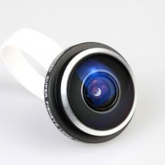 Cadou ideal, lentila super fisheye 235 grade pentru mobil