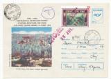 RFL 1995 ROMANIA eseu culoare vigneta Hohe Rinne Paltinis circulat pe plic FDC 2