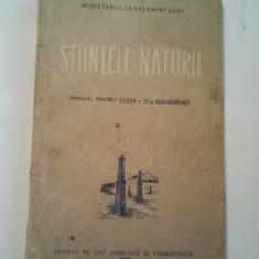 STIINTELE NATURII - PANAITESCU MAGDALENA ( A 114 ) - Manual scolar didactica si pedagogica, Clasa 4, Didactica si Pedagogica, Alte materii