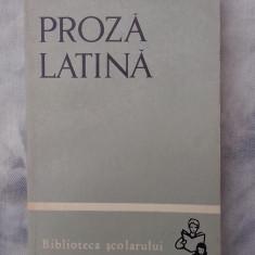 Proza latina - Cicero, Caesar, Sallustius, Titus Livius, Tacitus, Seneca