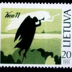 Lituania 1991 - cat.nr.404 neuzat, perfecta stare - Timbre straine, Nestampilat