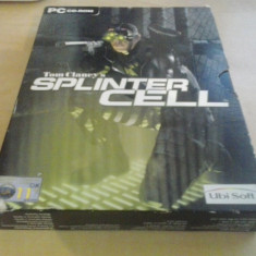Joc PC - Tom Clancy's Splinter Cell (BOX SET) (GameLand), Actiune, 18+