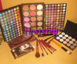 Trusa machiaj MAC 183 culori 7 pensule fond de ten corector concealer eyeliner, Mac Cosmetics
