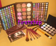 123123Trusa machiaj MAC 183 culori 7 pensule fond de ten corector concealer eyeliner