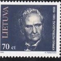 Lituania 1995 - cat.nr.509-11 neuzat, perfecta stare - Timbre straine, Nestampilat