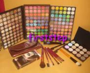 123123Trusa machiaj MAC 180 culori 7 pensule fond de ten corector concealer eyeliner