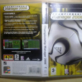 Championship Manager 2006 - Joc PSP ( GameLand ) - Jocuri PSP, Strategie, Toate varstele, Single player