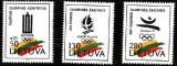 Lituania 1992 - cat.nr.427-9 neuzat,perfecta stare