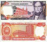 VENEZUELA 50 bolivares 1998 UNC!!!