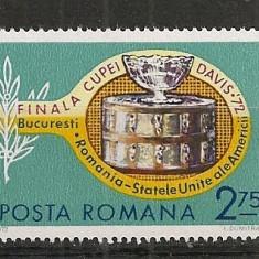 Romania.1972 Finala Cupei Davis CR.384 - Timbre straine