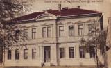 Ok-1533- Romania, Saliste c.p. cenzurata circulata 1942: Scoala romana gr. or.