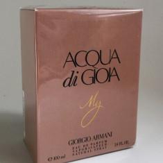 GIORGIO ARMANI ACQUA DI GIOIA MY- eau de parfum, 100ml, dama-replica calitatea A++ - Parfum femeie Armani, Apa de parfum
