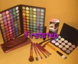 Trusa machiaj 120 culori 7 pensule fond de ten corector concealer eyeliner tus, Mac Cosmetics