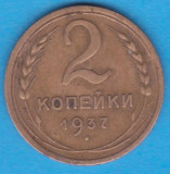 (M768) MONEDA RUSIA - 2 KOPEICI 1937, Europa