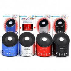 BOXA Telefon portabila cu MP3, RADIO, cablu USB, Slot de CARD, Acumulator Inclus - Boxa portabila