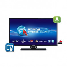 Televizor LED Hyundai FL40211SMART, 40 inch, 1920 x 1080 px FHD Smart TIMESHIFT USB, Full HD, Smart TV