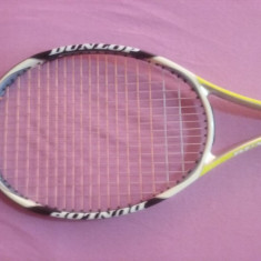 Racheta tenis Dunlop Aerogel 500 - Racheta tenis de camp Dunlop, SemiPro, Adulti, Grafit/Carbon