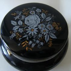 Frumoasa cutie de bijuterii, pictata, motive florale, stare perfecta. - Cutie Bijuterii