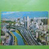 HOPCT 20042 VENEZUELA CARACAS -AUTOSTRADA DE EST A ORASULUI [CIRCULATA], Printata