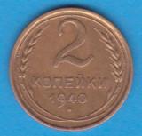 (M771) MONEDA RUSIA - 2 KOPEICI 1940- STARE BUNA, Europa