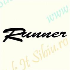 Runner_Sticker Auto_Tuning _ Cod: CSTA-920-Dimensiuni: 15 cm. x 3.3 cm.