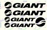 Set Giant - Model 1_Sticker Bicicleta_Tuning _ Cod: SET-026