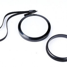 Capac balans de alb pe 55mm pentru obiective Nikon, Canon, Sony, Pentax. etc - Capac Obiectiv Foto