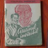 Colectia detectiv - Asasinul invizibil de A. Holdern - 64 pagini - Carte de aventura