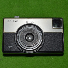 Aparat foto ISO-PAK Agfa vechi, vintage, colectie, 11.5x7x4cm - Aparat de Colectie