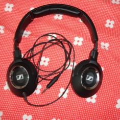 Casti Sennheiser HD 219, Casti Over Ear, Cu fir, Mufa 3, 5mm, Active Noise Cancelling