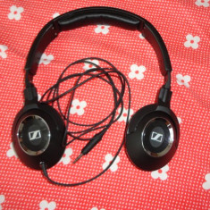 Casti Sennheiser HD 219, Casti Over Ear, Cu fir, Mufa 3, 5mm, Active Noise Cancelling