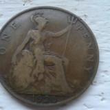 1 penny 1920 M. Britanie, Europa