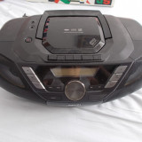 CD PHILIPS MODEL AZ3856 USB/MP3/CD/CASETOFON /TELECOMANDA .FUNCTIONEAZA . - CD player