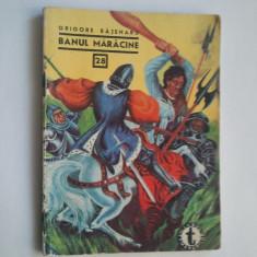 BANUL MARACINE - GRIGORE BAJENARU ( C. CLUBUL TEMERARILOR 28 } - Carte de aventura