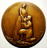 5.046 MEDALIE MILITARA FRANTA COMITET LOUISE DE BETTIGNIES 1918 REAL DEL SARTE, Europa