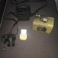 Fuji Finepix S3300 ultrazoom 26x, geanta, 8GB, acumulatori si incarcator - Aparate foto compacte fujifilm