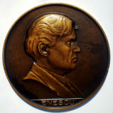 5.061 ROMANIA MEDALIE MUZICA ANIVERSARE COMPOZITOR GEORGE ENESCU 1946 STANESCU